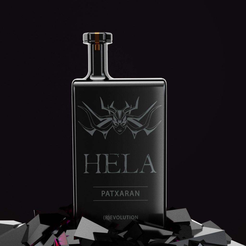 Hela | Bottle Design