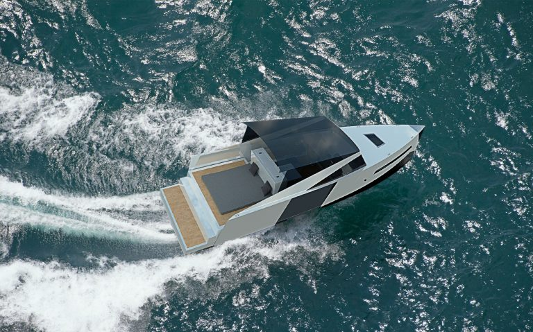 White Drakkar | Boat design