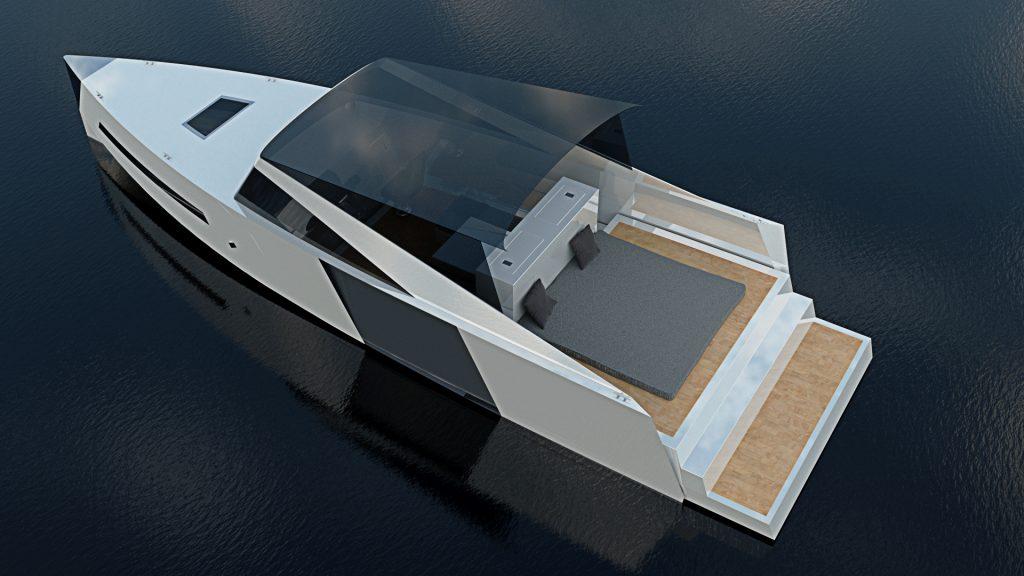 White Drakkar | Boat design